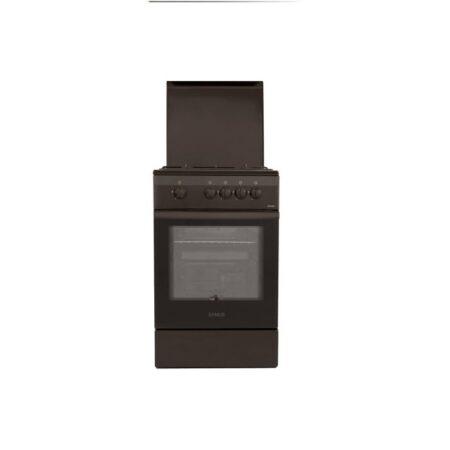 Aragaz Samus SM 550 MBS, 4 arzatoare, Siguranta plita + cuptor, Maro3